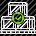 boxes, cargo, good, shipment, коробки, перевозка, ящики icon