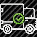 camper, good, truck, waggon, wan, грузовик, фургон icon