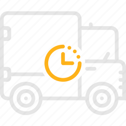 camper, truck, waggon, waiting, wan, грузовик, фургон icon