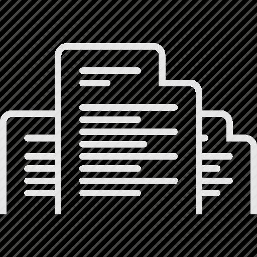 document, documentation, invoice, документы, счет icon