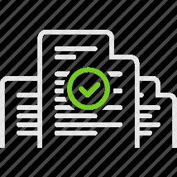 document, documentation, good, invoice, документы, счета icon