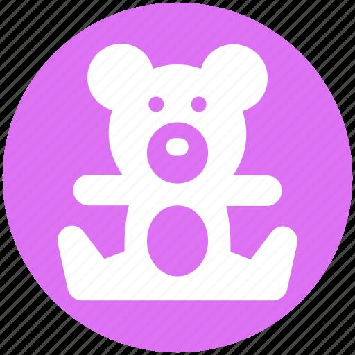 bear, teddy, teddy bear, toy, toy teddy, toy teddy bear icon