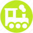 engine, locomotive, locomotive engine, rail, train, train engine icon