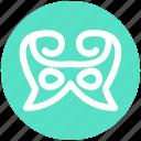 carnival mask, circus mask, eye mask, festival mask, festivity, mask icon
