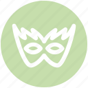 carnival mask, celebrations, circus mask, festival mask, festivity, mask icon