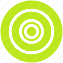 bulls eye, dartboard, disc, goal, target icon