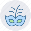 brazil carnival, carnival mask, celebrations, circus mask, eye mask, festivity, mask icon