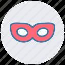 carnival mask, celebrations, circus mask, festival mask, festivity, frame eyes mask icon