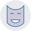 carnival symbol, celebrations, face mask, festival mask, festivity, mask icon