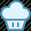 cupcake, dessert, food, maize, snacks, sweet icon