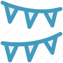 decorations, decors, party streamers, streamers, streamers and confetti, streamers banners icon