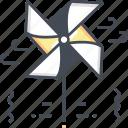 origami fan, fan, rotate, fun, game