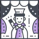 magician, magic, carnival, circus