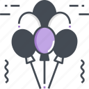balloon, celebration, party, decoration