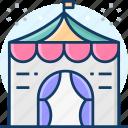 circus tent, tent, carnival, festive, celebration