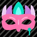 carnival, celebration, face, mask, party