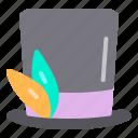 carnival, celebration, hat, magic, party icon