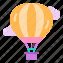 air, balloon, cloud, hot, travel