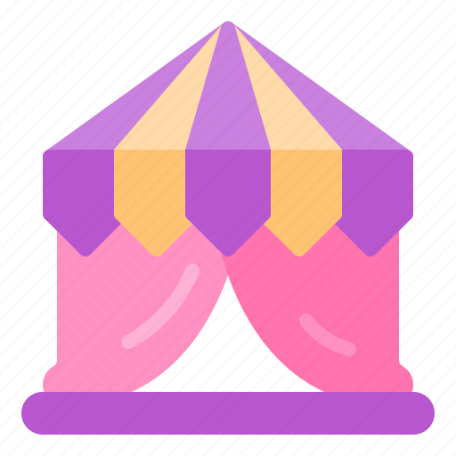 Circus, holiday, magic, show, tent icon - Download on Iconfinder