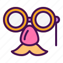 carnival, face, glasses, mask, nose
