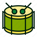 surdo, carnival, music, instrument, drum, percussion