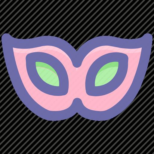 celebrations, circus mask, eye mask, festival mask, male mask, mask icon