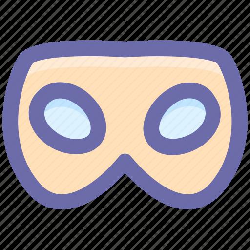 carnival mask, celebrations, eye mask, festivity, male carnival mask, mask icon