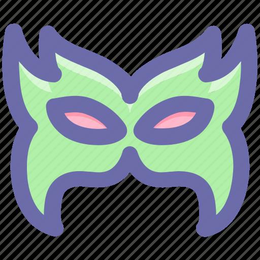 celebrations, circus mask, eye mask, festival mask, festivity, mask icon