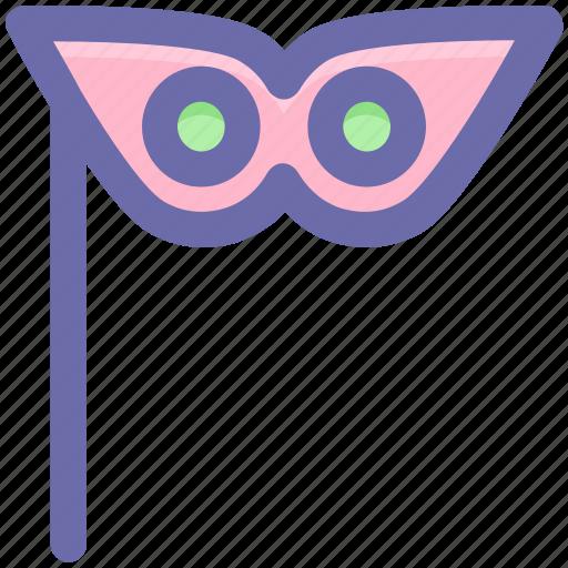 carnival mask, celebrations, circus mask, eye mask, festivity, mask icon