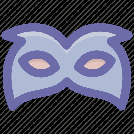 Carnival mask, celebrations, circus mask, eye mask, festival mask, thin elegant icon - Download on Iconfinder