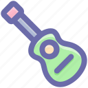 banjo, guitar, lute, musical instrument, ukulele icon