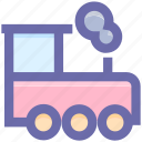engine, locomotive, locomotive engine, train, train engine icon