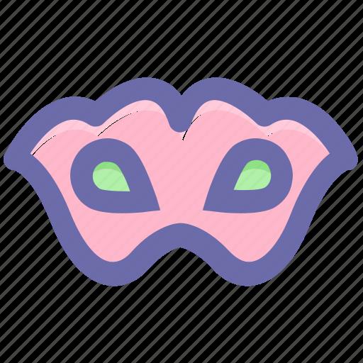 carnival mask, circus mask, eye mask, festivity, male carnival mask, mask icon