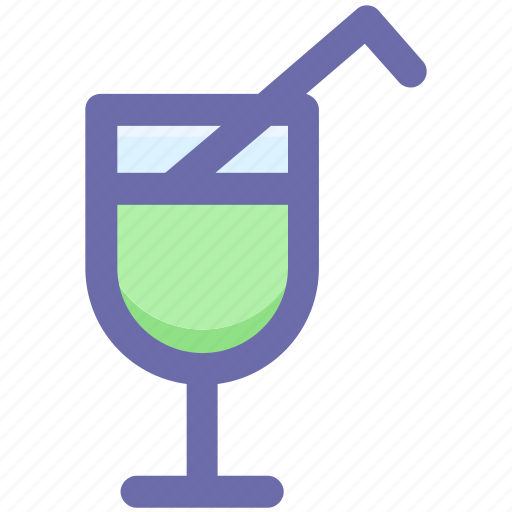 beverage, drink, glass, juice, soda icon