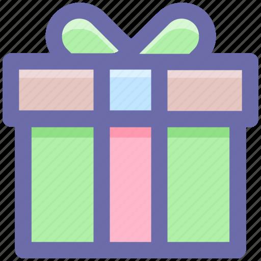 celebration, gift, gift box, party, present icon
