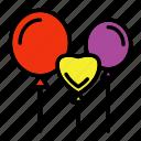 balloons, carnival, festivity, celebration