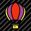 hot balloons, carnival, amusement, circus