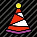 celebration, birthday, festival, party hat