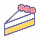 carnival, costume, party, cakes icon