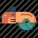 handyman, lumberjack, saw, carpentry, carpenter, circular, woodwork