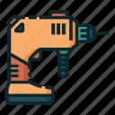 carpenter, carpentry, drill, handyman, lumberjack, woodwork