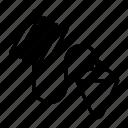 bob, construction, plumb, plummet, carpentry, tool, plumb line icon