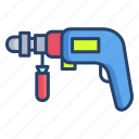 power, drill