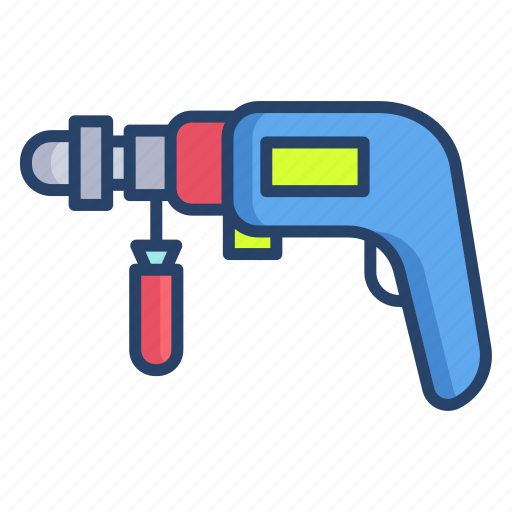 Power, drill icon - Download on Iconfinder on Iconfinder