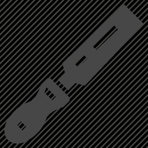 carpentry, file, tool, workpiece icon
