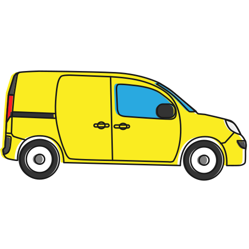 auto, cab, car, cargo, delivery, transport, transportation, vehicle icon