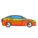 auto, automobile, car, hatchback, holiday, transport, transportation, travel, vehicle icon