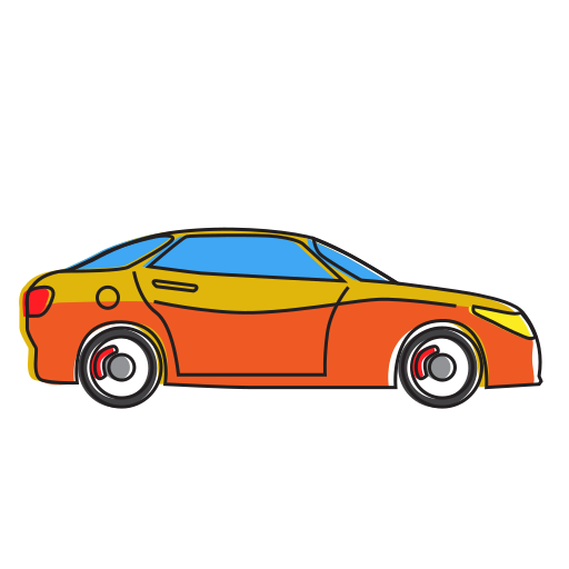 auto, automobile, car, hatchback, holiday, transport, transportation, travel, vehicle icon