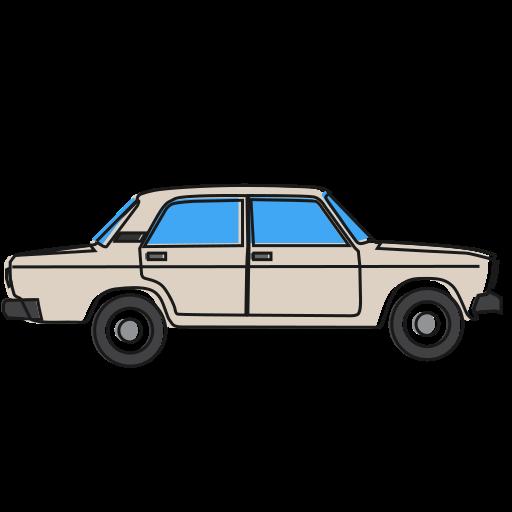 2107, auto, automobile, avtovaz, car, lada, vehicle icon