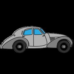 auto, car, oldcar, transport, vehicle icon